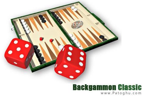 دانلود بازی تخته نرد برای کامپیوتر - Backgammon Classic Pro 1.04