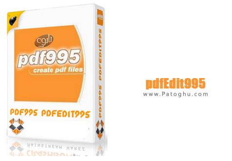 ویرایش فایل های Pdf با نرم افزار pdfEdit995 v11.3