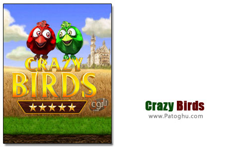 دانلود بازی کم حجم و جذاب جوجه های دیوانه - Crazy Birds
