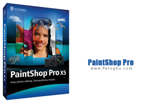 روتوش حرفه ای تصاویر با نرم افزار Corel PaintShop Pro