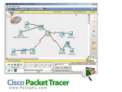 شبیه ساز شبکه های سیسکو با نرم افزار Cisco Packet Tracer v5.3.3.0019