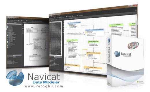 طراحی و مدیریت پایگاه داده ها با نرم افزار Navicat Data Modeler 1.0.3