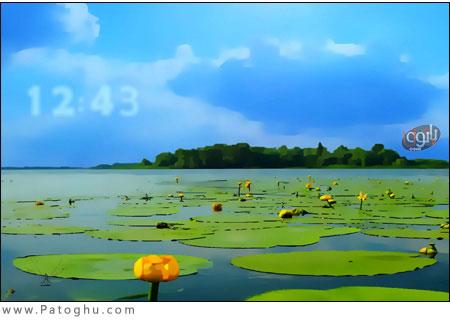 اسکرین سیور بسیار زیبای چشم انداز تابستان - Summer Landscape Screensaver