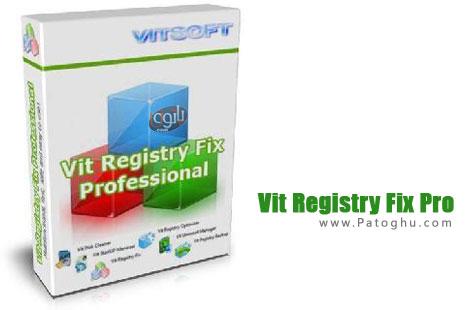 بهینه سازی رجیستری ویندوز با Vit Registry Fix Pro 12.3 Final