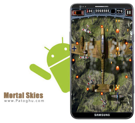 داونلود رایگان بازی جنگی بسیار جذاب Mortal Skies 2 V1.1 برای آندروید از لینک مستقیم