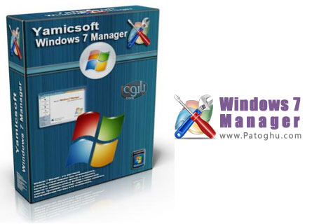 دانلود نرم افزار مدیریت و بهینه ساز در ویندوز 7 - Windows 7 Manager 4.1 Final
