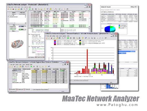 دانلود نرم افزار تجزیه ، تحلیل و رفع عیب شبکه MaaTec Network Analyzer 1.8