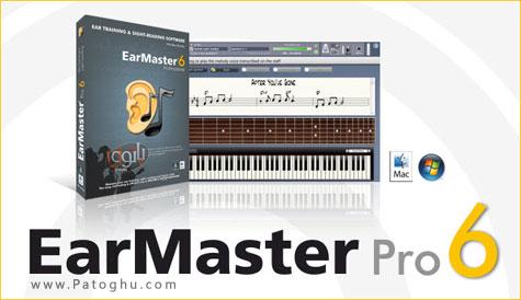 دانلود نرم افزار آموزشی فراگیری به کمک صوت با EarMaster School Pro 6.1.0.617