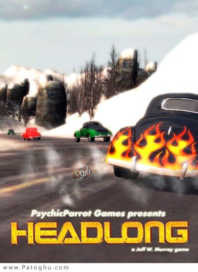 دانلود بازی مسابقات ماشین دیوانه وار Headlong Racing برای PC