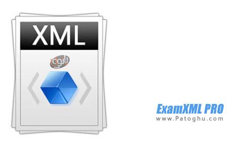 ترکیب ، ویرایش و مقایسه فایل های XML با ExamXML PRO 5.46.1070