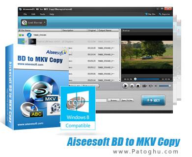 دانلود نرم افزار تبدیل بلوری به MKV با Aiseesoft BD to MKV Copy 6.1.6.14343