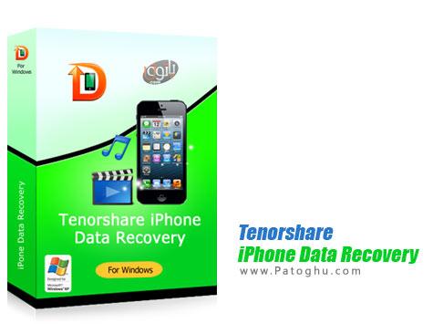 دانلود نرم افزار بازیابی اطلاعات پاک شده آیفون Tenorshare iPhone Data Recovery 3.3.1.3