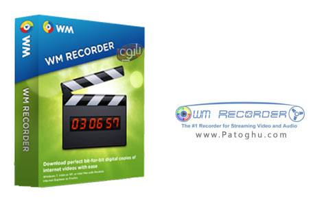 دانلود نرم افزار ضبط فایل های صوت و تصویری از اینترنت WM Recorder 14.16.1.0