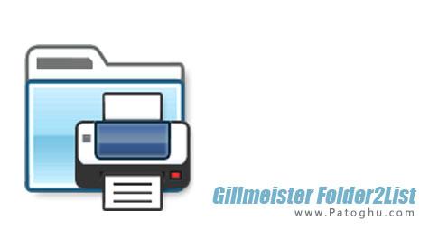 دانلود نرم افزار ساخت آسان لیست فایل ها و پوشه ها Gillmeister Folder2List 3.3.0
