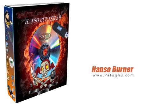 دانلود نرم افزار کم حجم رایت آسان سی دی و دی وی دی Hanso Burner 2.7