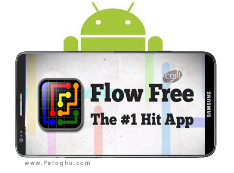دانلود بازی فکر و اعتیاد آور برای آندروید Flow Free 2.5