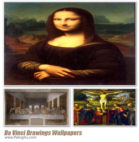دانلود والپیپر از شاهکارهای لئوناردو داوینچی - Da Vinci Drawings Wallpapers