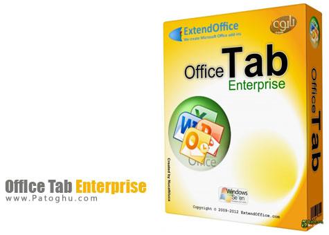 ایجاد تب و برگه در آفیس با نرم افزار Office Tab Enterprise 9.51