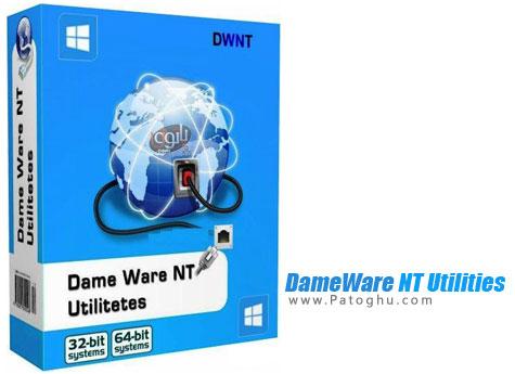 نرم افزار قدرتمند مدیریت شبکه های کامپیوتری - DameWare NT Utilities 8.0.1.151