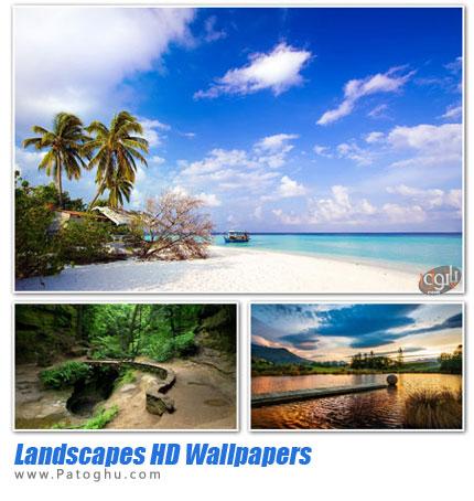 دانلود مجموعه تصاویر پس زمینه طبیعت - Landscapes HD Wallpapers