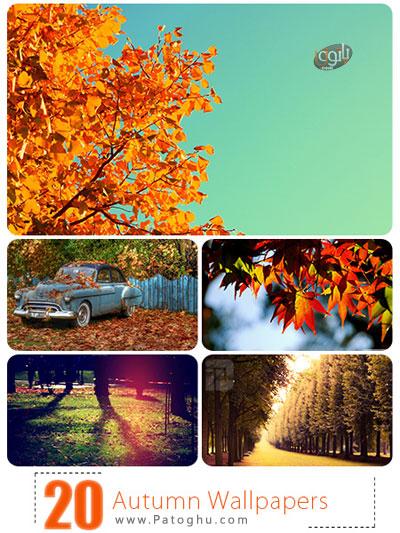 دانلود مجموعه 20 تصویر دسکتاپ با موضوع فصل پاییز