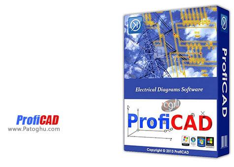 ساخت آسان نمودارهای الکتریکی با نرم افزار قدرتمند ProfiCAD v7.5.6