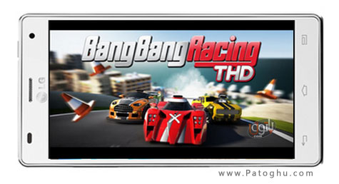دانلود بازی مسابقات اتومبیل رانی آندروید Bang Bang Racing HD v1.1