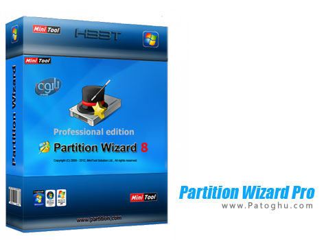 دانلود نرم افزار قدرتمند پارتیشن بندی و مدیریت هارد Partition Wizard Professional v8.1