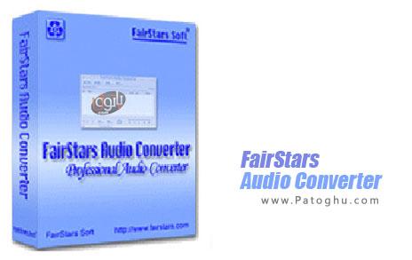 FairStars Audio Converter 1.97 نرم افزار مبدل انواع فرمت های صوتی به یکدیگر