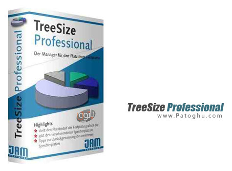 نرم افزار بهینه سازی هارد TreeSize Professional 6.0.0.906