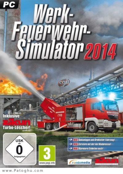 دانلود بازی شبیه ساز آتش نشانی برای کامپیوتر Plant Firefighter Simulator 2014