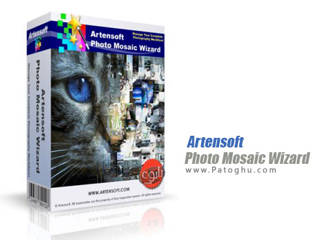 دانلود نرم افزار ساخت تصاویر موزاییکی Artensoft Photo Mosaic Wizard 1.6.118