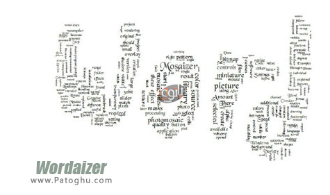 دانلود نرم افزار جالب ساخت اشکل از انبوه کلمات Wordaizer 2.3.59 Final