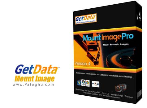 ساخت درایو مجازی و بارگذاری image فایل ها با GetData Mount Image Pro v5.2.8.1156