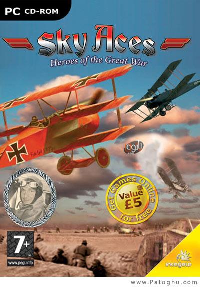 دانلود بازی کم حجم شبیه ساز نبرد هوایی جنگ جهانی دوم Sky Aces World War v3.1