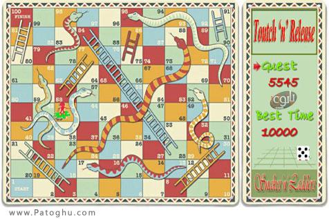 دانلود بازی مار و پله برای آندروید Snakes n Ladders Classic 1.03