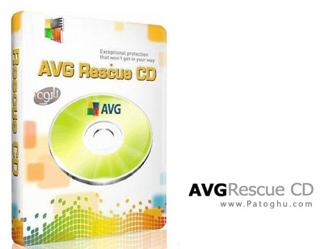 دانلود دیسک نجات آنتی ویروس AVG با AVG Rescue CD v120.130801