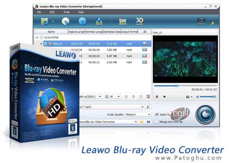 دانلود نرم افزار مبدل فایل های بلوری به سایر فرمتها Leawo Blu-ray Video Converter 6.1.0.0