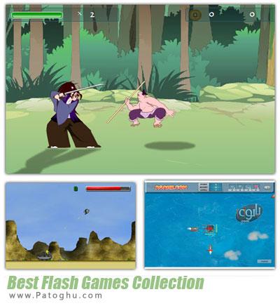 دانلود مجموعه بازی های جنگی و مبارزه ای کم حجم فلش - Flash Games Collection 2013