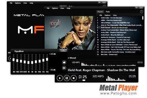 دانلود پلیر قدرتمند فیلم و موزیک Metal Player v4.0.3.4