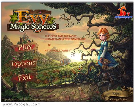 دانلود بازی اعتیاد آور Evy: Magic Spheres برای کامپیوتر