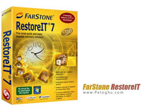 بازگردانی ویندوز در سریع ترین زمان با نرم افزار FarStone RestoreIT 2013