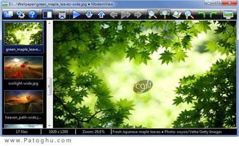 دانلود نرم افزار نمایش تصاویر به صورت مدرن ModernView 3.0