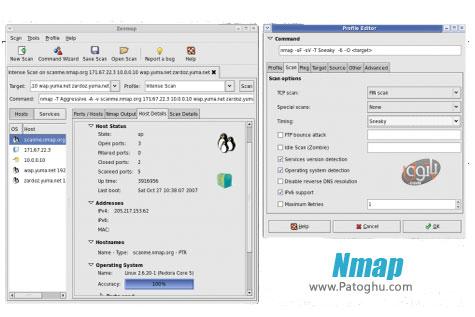 دانلود نرم افزار ارزیابی امنیت شبکه Nmap Final