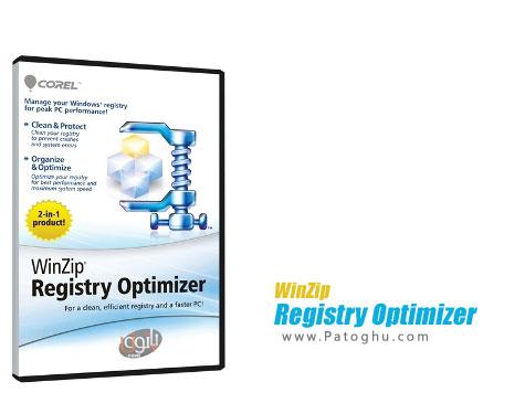 دانلود نرم افزار بهینه ساز رجیستری ویندوز WinZip Registry Optimizer 2.0.72.2729