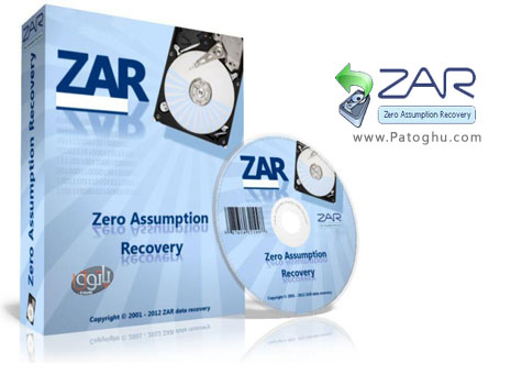 دانلود نرم افزار بازیابی اطلاعات پاک شده بعد از فرمت هارد zero assumption recovery 8.5