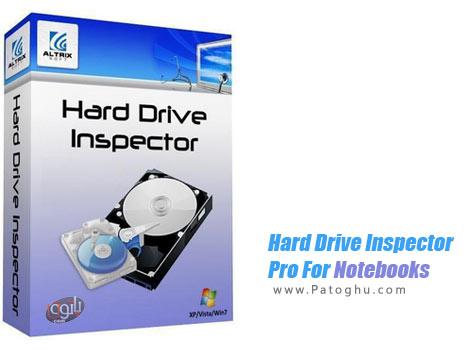 دانلود نرم افزار تست و نظارت بر سلامت هارد لپ تاپ - Hard Drive Inspector Pro For Notebooks v4.16
