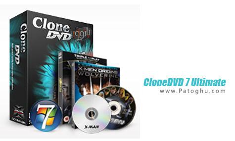 دانلود نرم افزار رایت فیلم های DVD قفل دار - CloneDVD 7 Ultimate 7.0