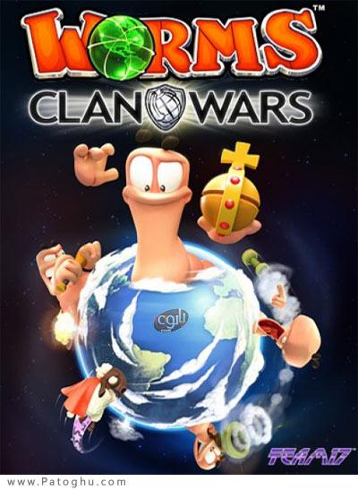 دانلود نسخه جدید بازی جنگ کرمها برای کامپیوتر Worms Clan Wars
