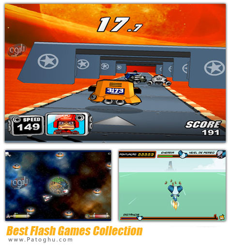 دانلود مجموعه بازی های فضایی و کم حجم فلش Best Flash Game Pack